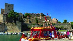 Promenade en mer : Barracuda sur la Balade 3 Ports à Collioure