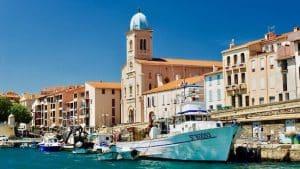 Visite du port de Port-Vendres, après être passé à Collioure lors de la promenade en mer : Balade 3 Ports