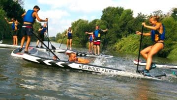 Paddle en rivière - Bon plan