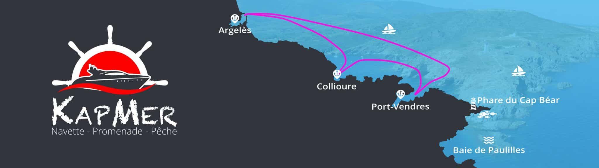 Circuit de la Balade 3 Ports