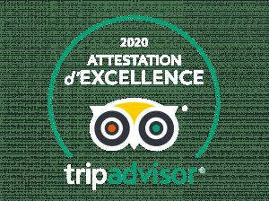 KapMer est gratifié du Certificat d'excellence 2020 - Trip Advisor