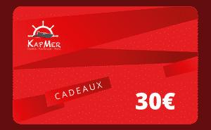 Carte Cadeaux KapMer de 30€