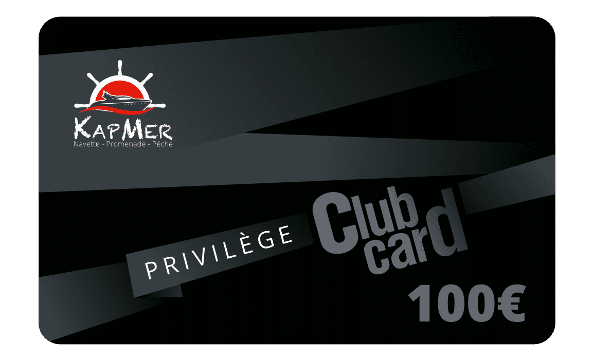 La carte Privilège KapMer de 100€ vous permet d'acheter toutes nos prestations en ligne et de bénéficier jusqu'à -15% de réduction sur tous nos prestations.