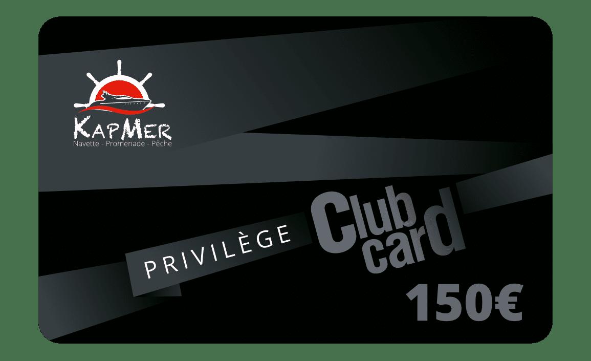 La carte Privilège KapMer de 150€ vous permet d'acheter toutes nos prestations en ligne et de bénéficier jusqu'à -15% de réduction sur tous nos prestations.