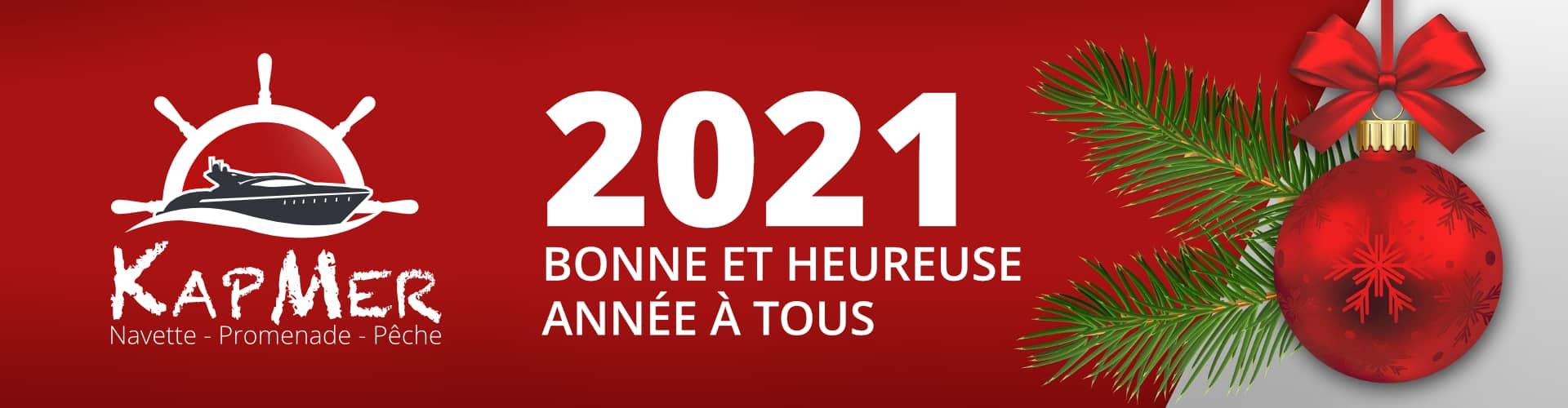 KapMer vous souhaite une bonne année 2021